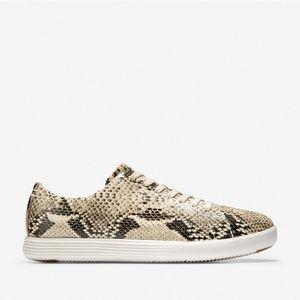 Cole Hann Grand Crosscourt Sneaker Snake Print 9B